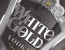 Водка WHITE GOLD BLACK EDITIOIN